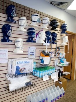 CPAP and respiratory products at Lehan's in DeKalb